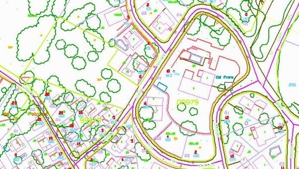 Ejemplo cartografia catastral cstleon for Oficina de catastro